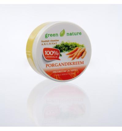 Green Nature - Porgandikreem 120ml