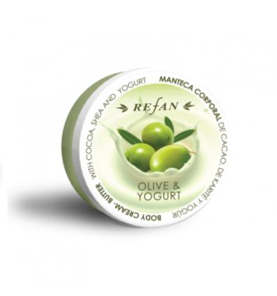 Refan - Kehakreem võie Olive and Yogurt 200ml