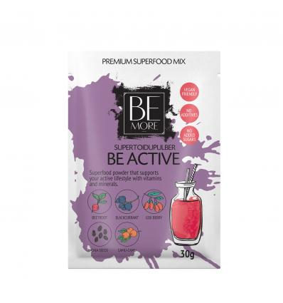 Be More - Be Active väike supertoidupulber 30g