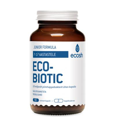 Ecosh - Ecobiotic Junior Probiootikumid 90 kapslit