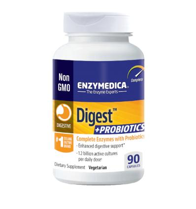 Enzymedica - Digest+Live Bacteria 90tk