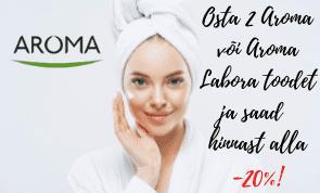 Aroma Labora puhtad tooted eriti hea hinnaga