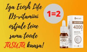Ecosh D vitamiini kampaania