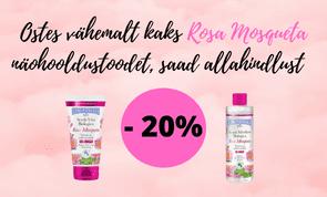 Rosa Mosqueta toodete kampaania