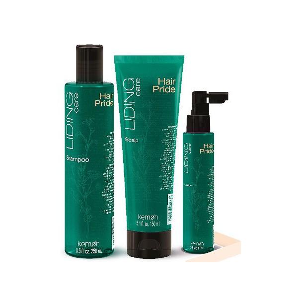 Juuste väljalangemine ja Liding Hair Pride juuksehooldus tooted