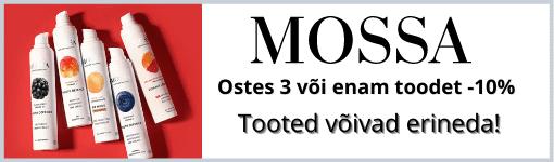 Osta kolm või rohkem Mossa toodet ja säästa kohe!