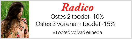 Radico looduslik juuksehooldus ja juuksevärvid