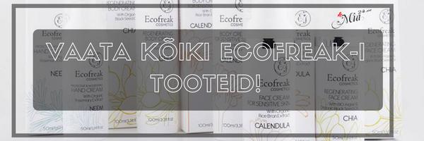 Ecofreak tooted kosmeetika