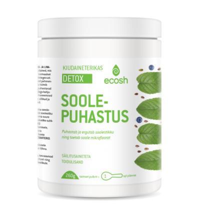 Ecosh Life Detox soolepuhastus
