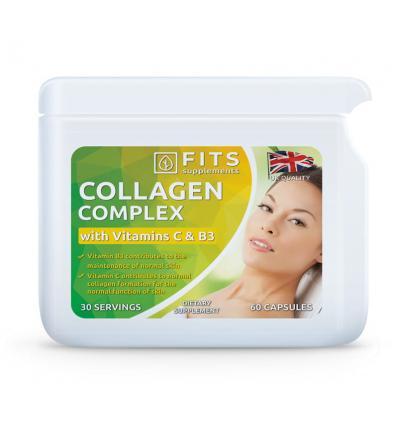FITS - KOLLAGEEN + C VITAMIIN + B3 VITAMIIN 3 IN 1 KOMPLEKS KAPSLID 60TK